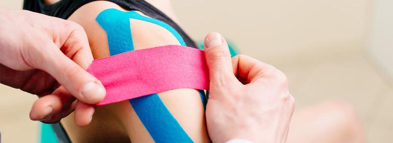 Тейп пластырь для мышц