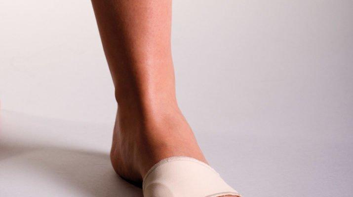 Лечебный пластырь от косточек на ногах